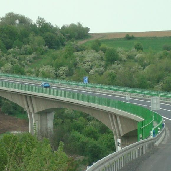 I/27 Velemyšleves, bridge across the valley of river Chomutovka